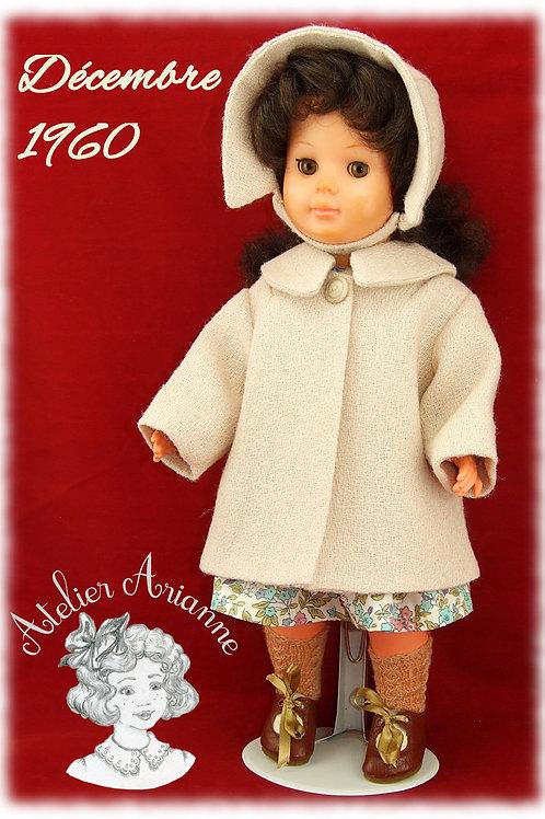 Décembre 1960 Tenue pour poupée Marie Françoise Modes et Travaux