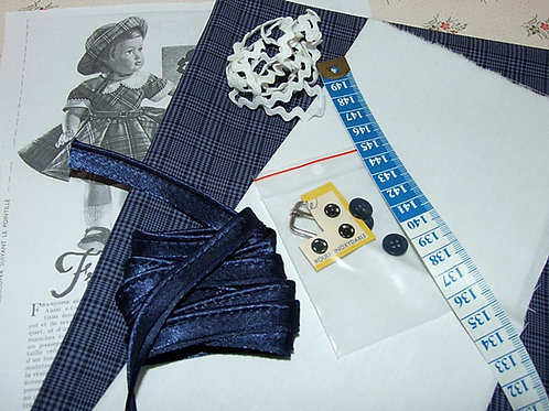 Kit 51 couture Modes et Travaux Françoise avril 1954