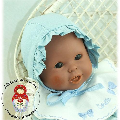 Bonnet pour poupée Corolle - bleu