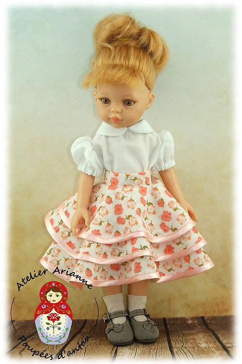 Jupe pour poupée Corolle ou Paola Reina 33 cm