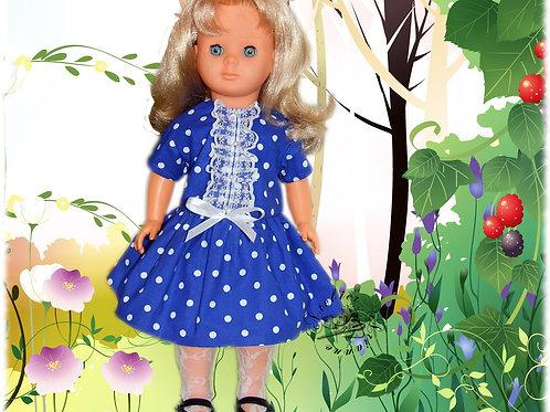 Tenue pour poupée  Marie-Françoise Octobre 1964