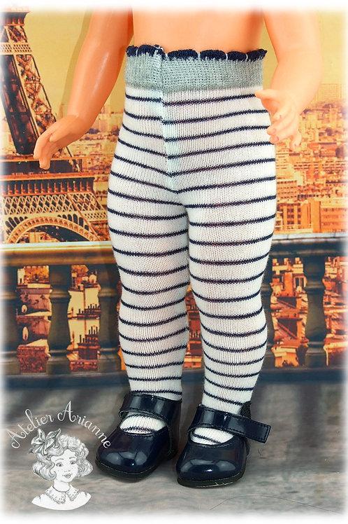 Nr 5 Collant en jersey pour poupées de Modes et Travaux , Kattie de Raynal