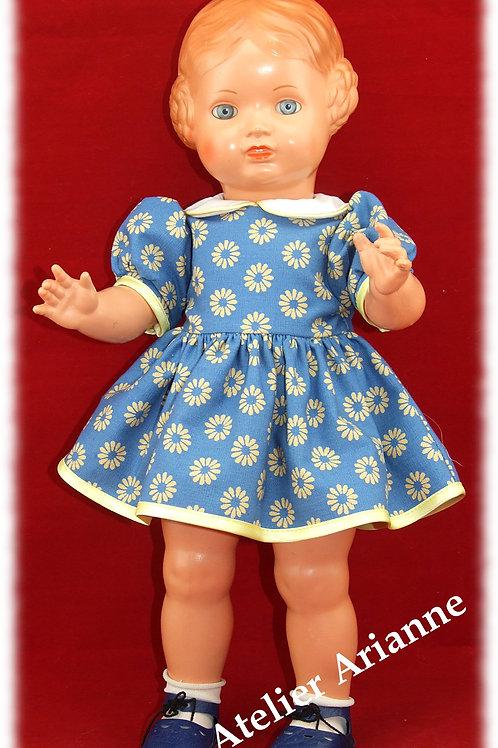 Tenue Allysia pour poupée GéGé numéro 6 - 38 cm ou Patsy 36 cm