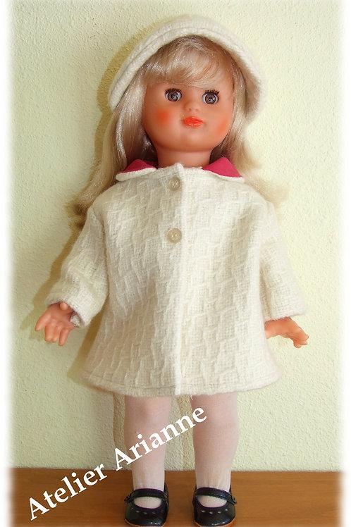 Tenue décembre 1963 pour poupées Modes et Travaux, Marie-Françoise et Emilie