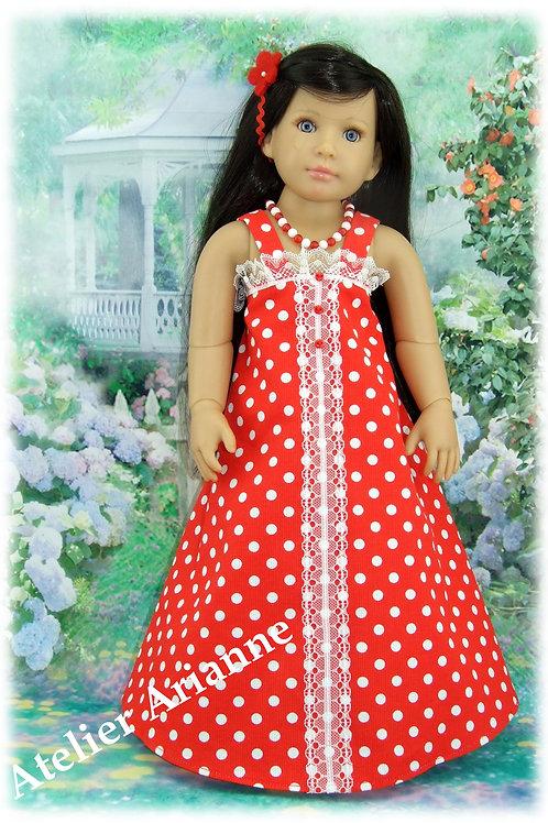 Tenue Carmen pour poupées Finouche de Petitcollin et  Kidz'n'Cats