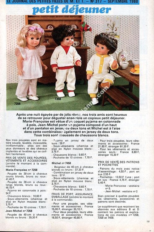 Page Modes et Travaux Septembre 1980