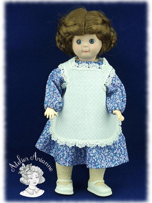 Reproduction de tenue pour poupée Loulotte - Mars et Avril 1905