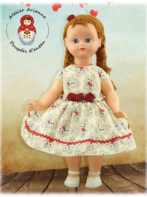 Maria Robe Tenue pour poupée Bella 38 cm