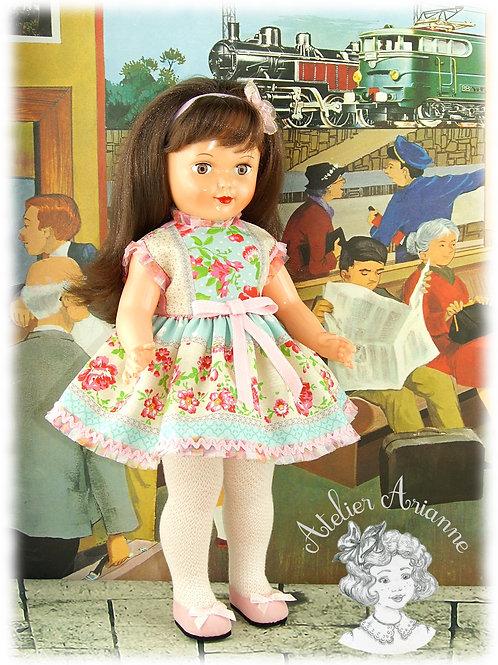 Floriane - Tenue pour les poupées Modes et Travaux