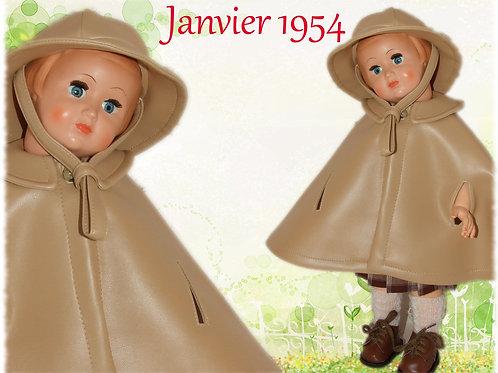 Réservé pour Nathalie Tenue poupée Modes et Travaux pour Françoise Janvier 1954