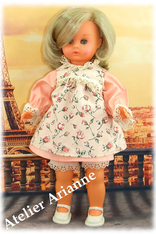 Tenue Caroline pour poupées : 36-40 cm Bella, Gégé, Raynal et d'autres