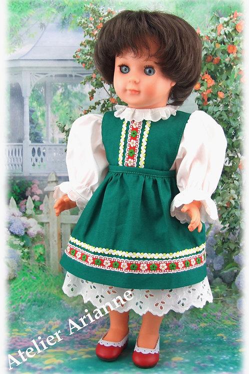 Tenue pour poupée Marie-Françoise et Emilie Modes et Travaux Août 1989