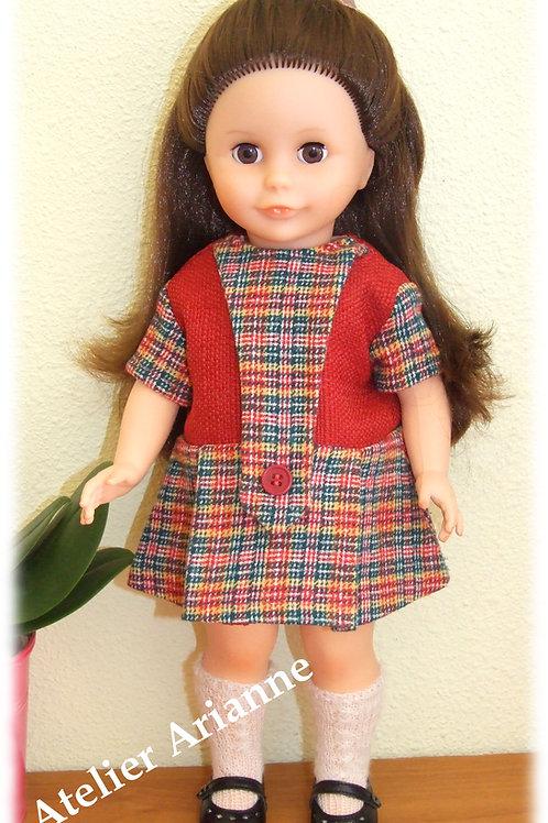 Tenue Octobre 1969 pour poupée Modes et Travaux, Marie-Françoise
