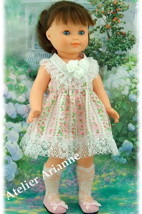 Tenue Juin 1956 pour poupée Modes et Travaux Marie-Françoise