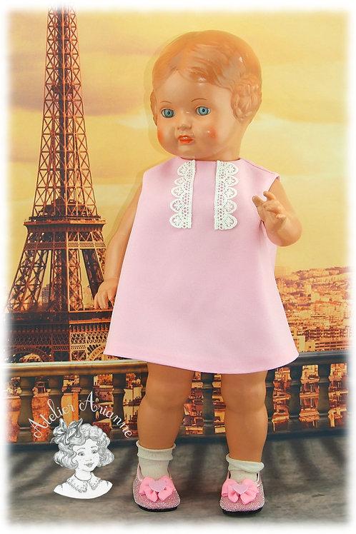 Martine Reproduction d'une tenue d'origine pour poupée de 42 cm