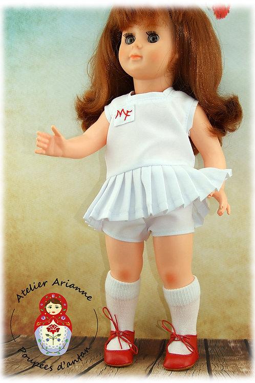 Juin 1964 Tenue pour poupée Marie-Françoise Modes et Travaux