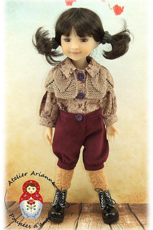 Elona - Tenue pour poupée Ruby Red