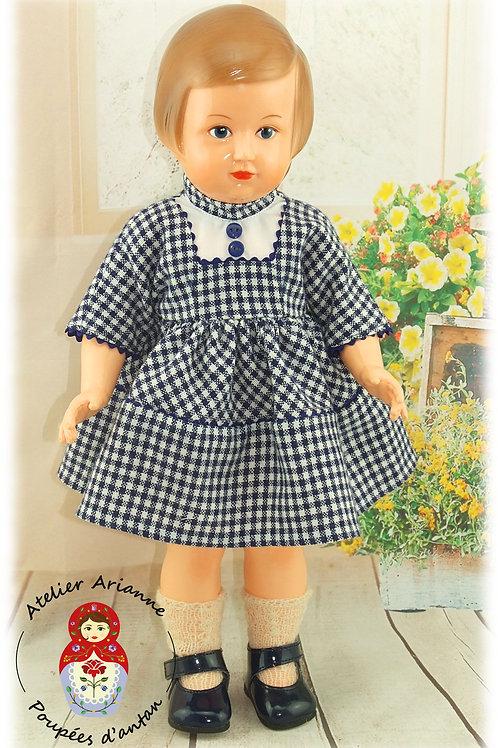Tenue pour poupée Françoise Modes et Travaux Octobre 1958