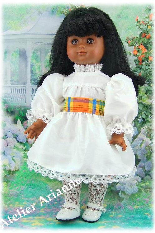 Tenue pour poupée Emilie Modes et Travaux Décembre 1988