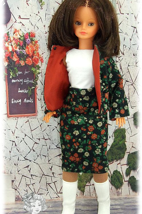 Odélia-Tenue pour poupée Cathie de Bella
