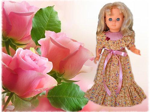 Tenue pour poupée Françoise Modes et Travaux Juin 1977
