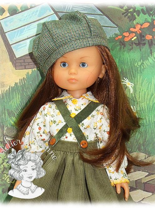 Pièce exclusive - tenue Berta pour Paola Reina ou Corolle de 33 cm