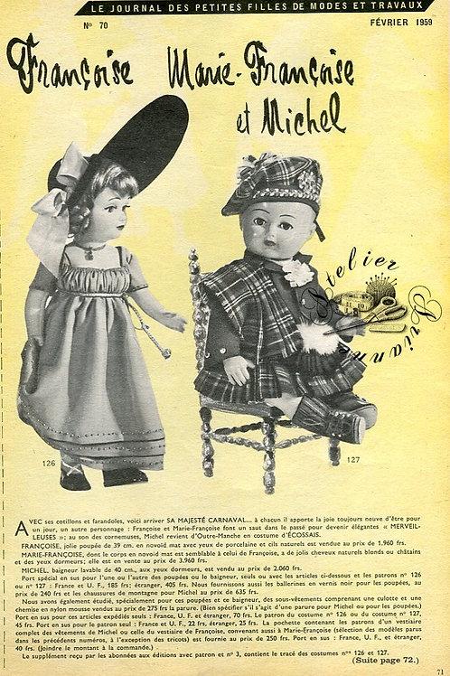 Page Modes et Travaux Février 1959