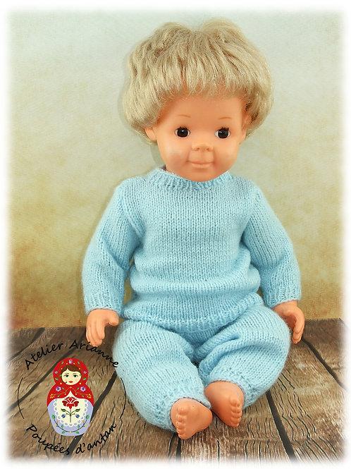 Henryk tenue pour poupée Modes et Travaux : Michel