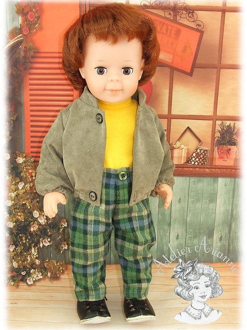 Septembre 1983 - Tenue pour poupée Jean-Michel de Modes et Travaux