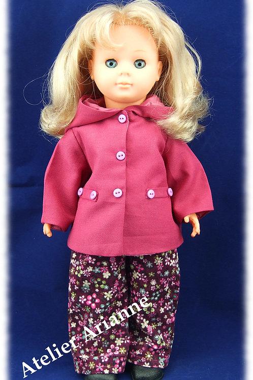 Tenue Olga pour poupées de Modes et Travaux