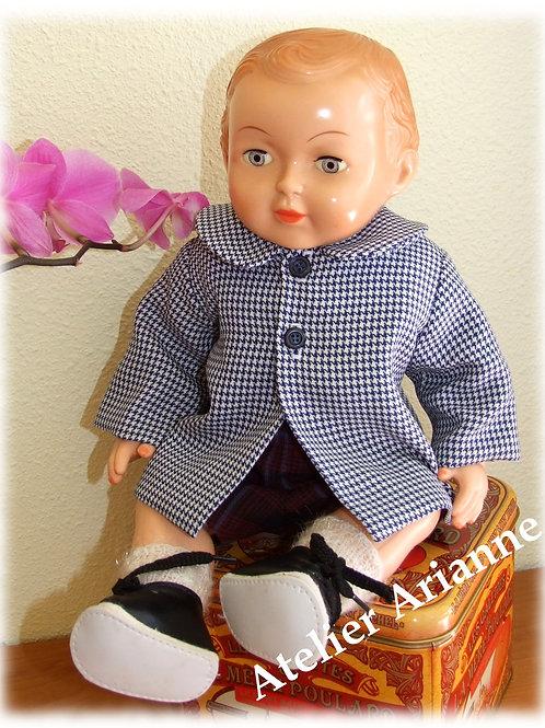 Tenue pour poupée Michel Modes et Travaux Novembre 1962