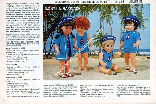 Page Modes et Travaux Juillet 1980