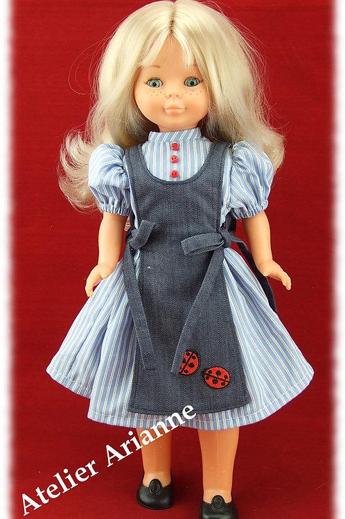 Reproduction Tenue Casera pour poupée Nancy de Famosa 40 cm