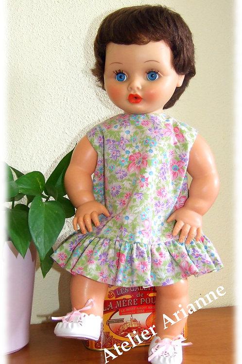 Tenue Carine 50-56 cm pour poupées et poupons ( corps enrobé)