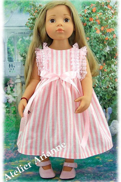Tenue Eloise  poupée Maru and Friends, Gotz, Kidz'n'Cats et d'autres 45-50 cm