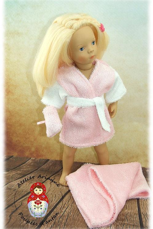 Janvier 1985 Tenue pour poupée Minouche fille