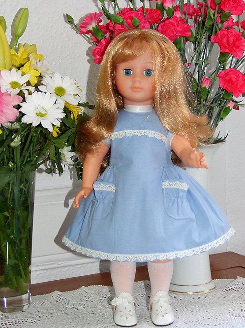 Tenue pour poupée Marie- Françoise Modes et Travaux Avril 1962