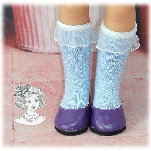 Chaussettes en jersey pour poupées Corolle, Paola Reina, Minouche 33 cm