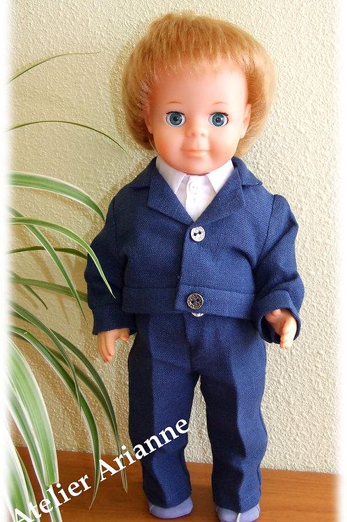 Tenue pour poupée  Jean-Michel Modes et Travaux Avril 1980