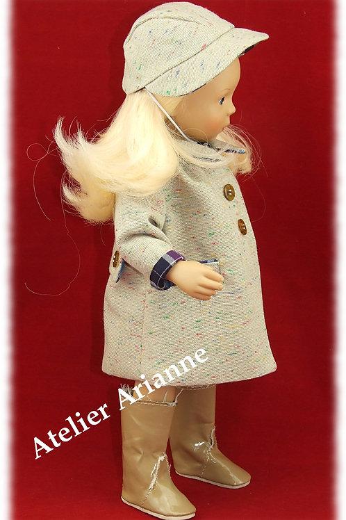 Tenue Rosalie pour poupées  Little Darling ,Minouche, Corolle 33 cm, Paola