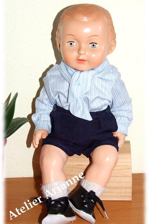 Tenue mai 1969 pour poupée Modes et Travaux Michel