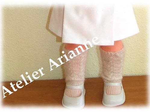 Chaussettes pour poupées 55-60 cm GéGé, Raynal et d'autres