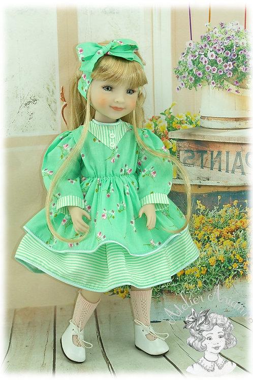 Lulotte- Tenue exclusive pour poupées Fashion Friends -Ruby  Red