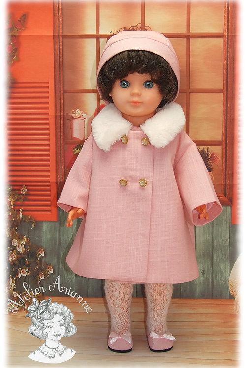Tenue pour poupée Marie-Françoise de Modes et Travaux - Novembre 1965
