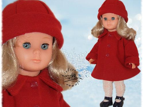 Tenue pour poupée Françoise Modes et Travaux Novembre 1961