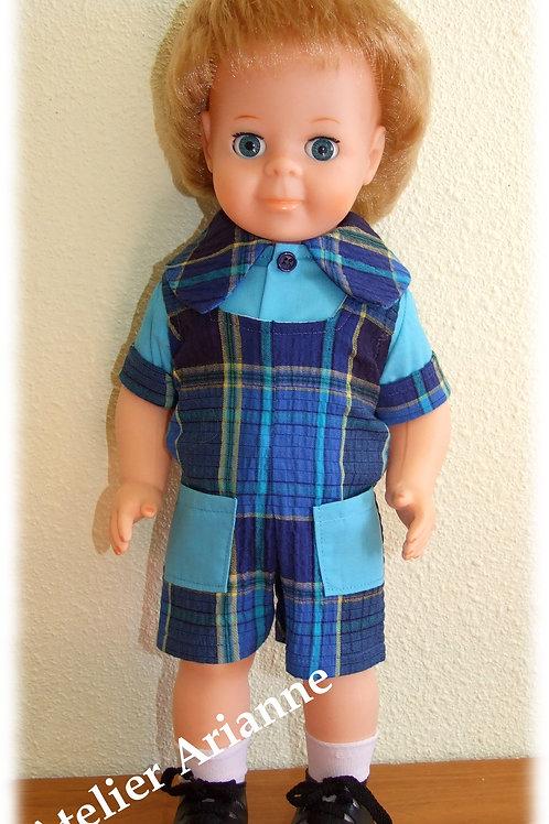 Tenue pour poupée  Jean-Michel Modes et Travaux Mai 1973