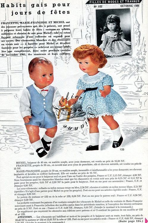 Page Modes et Travaux Octobre 1961