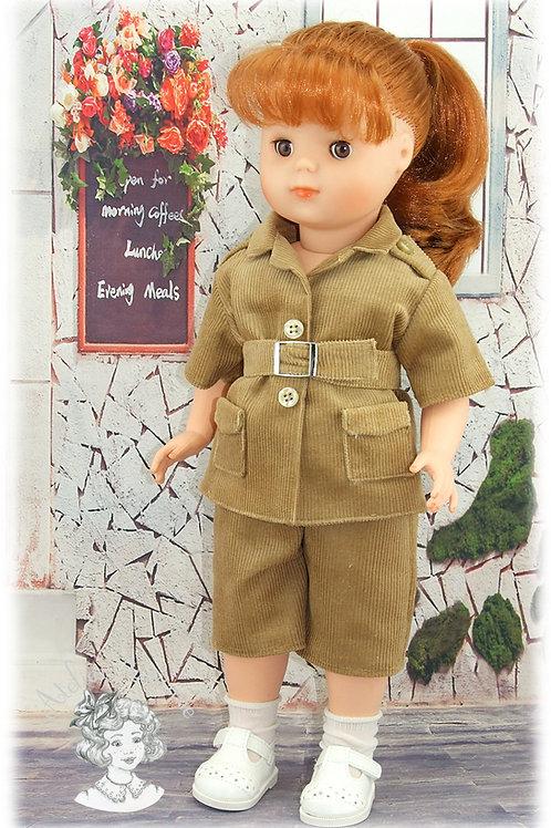 Mai 1984-Tenue pour poupée Marie-Françoise de Modes et Travaux