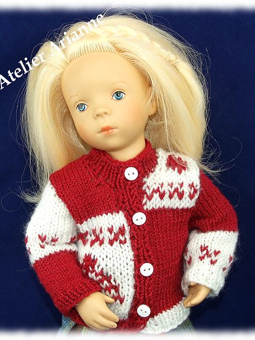Tenue Journée d'hiver, tricot pour poupées Minouche, Corolle, Paola Reina 33 cm