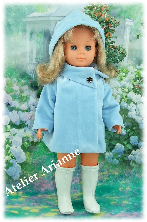 Tenue pour poupée Marie - Françoise Modes et Travaux novembre 1967